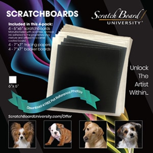Add to Cart Scratchboard Replacement Boards