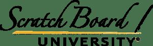 Scratch Board University Logo