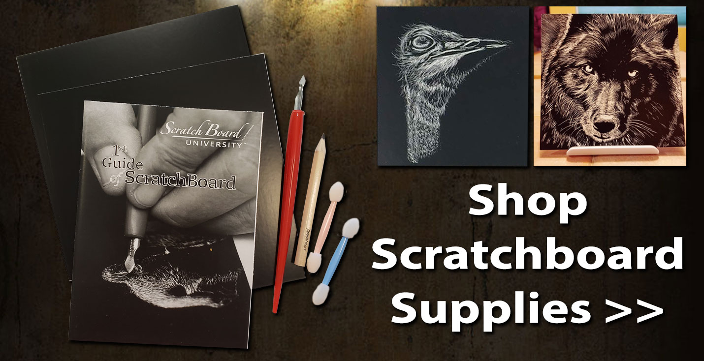 Buy Scratchboard Kit & Supplies