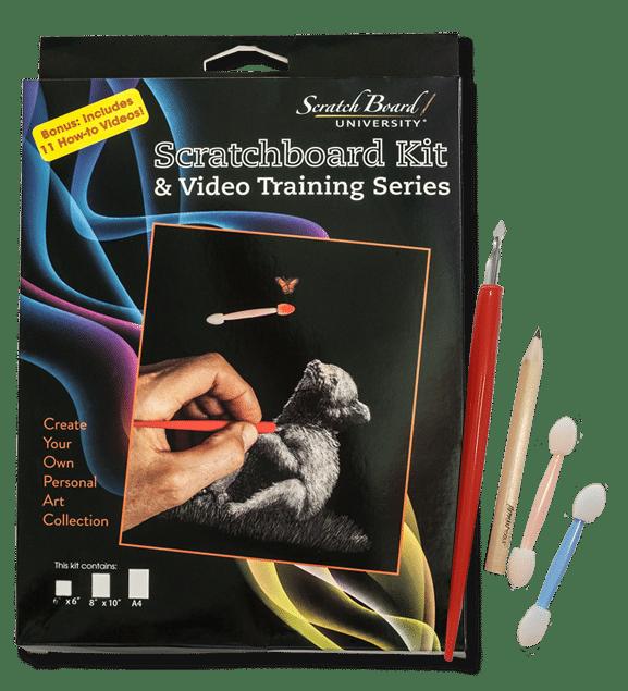 ScratchBoard Kit & Supplies