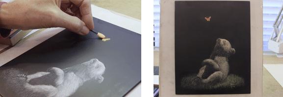 ScratchBoard University | Pastel Chalks for Scratchboard Art